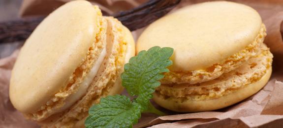 macarons vaniglia