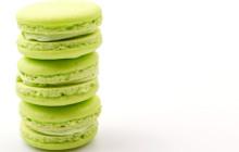 Macaron alla mela verde
