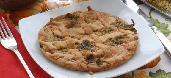 Erbazzone dolce torta salata Scarpazoun reggiano