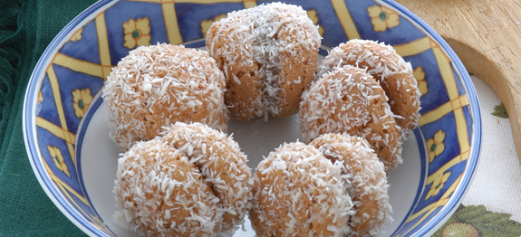 amaretti ripieni al cocco